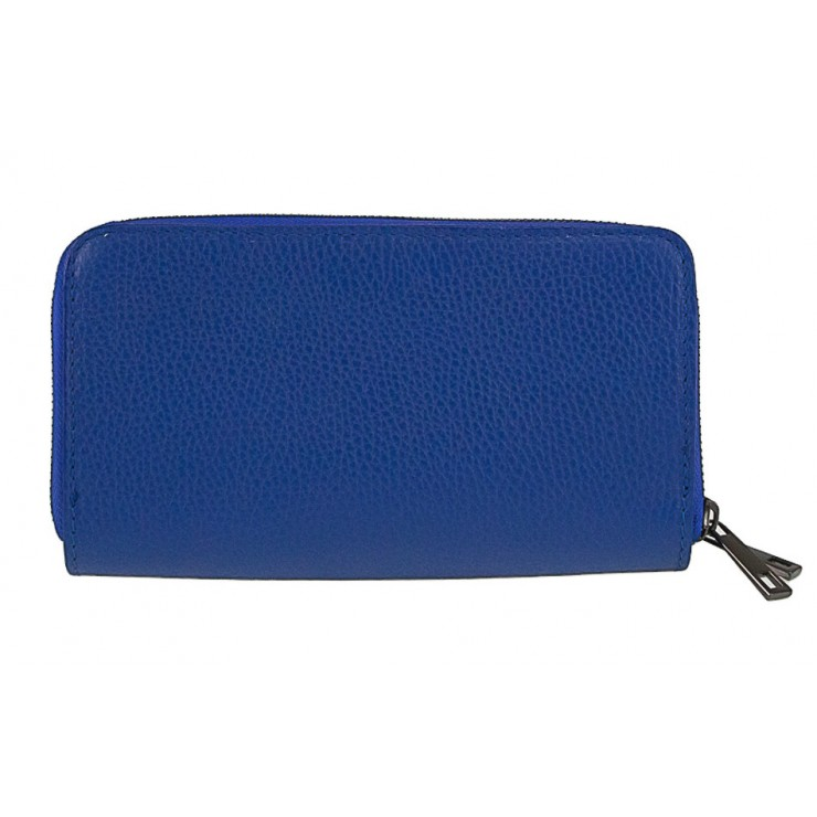 Woman genuine leather wallet 823 blue