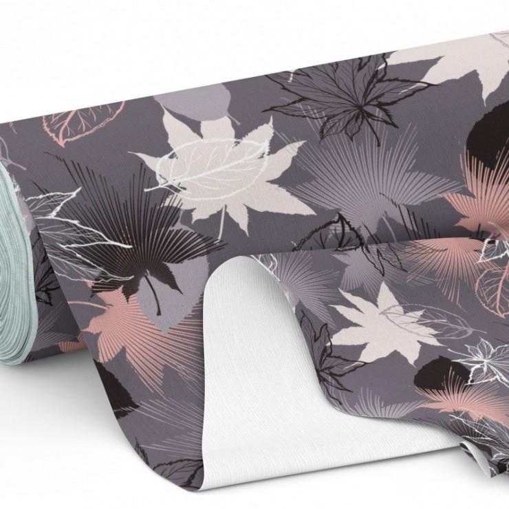 Waterproof patterned fabric, h. 160 cm
