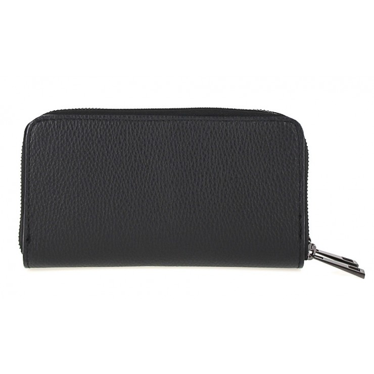 Kožená peňaženka 823 čierna