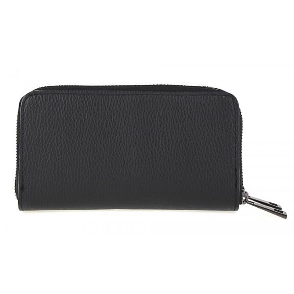 Kožená peňaženka 823 čierna Čierna