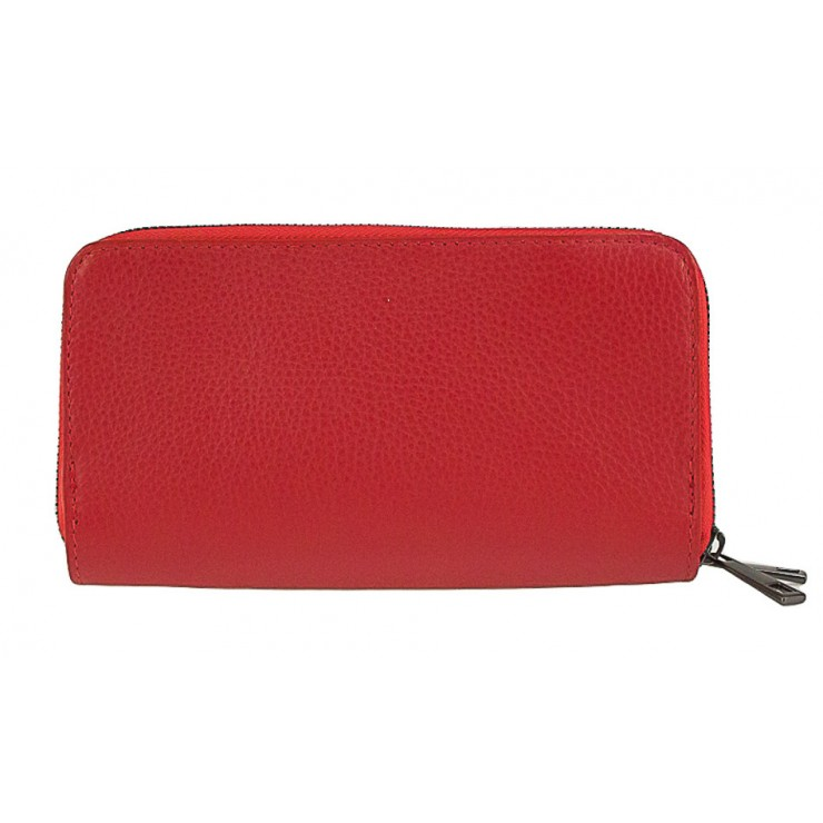 Woman genuine leather wallet 823 red