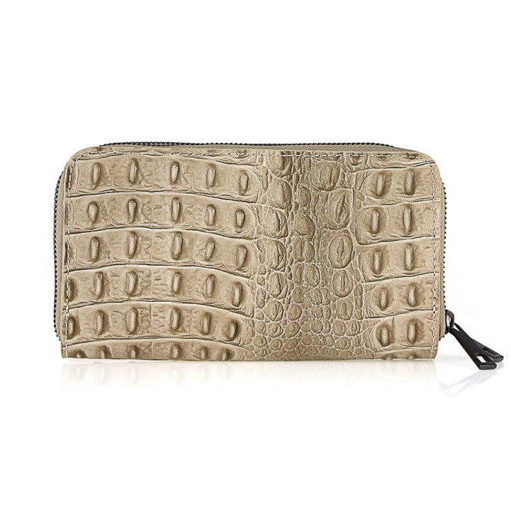 Woman genuine leather wallet 822 taupe