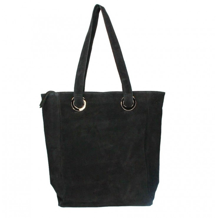 Genuine Leather Maxi Bag 524 MADE IN ITALY