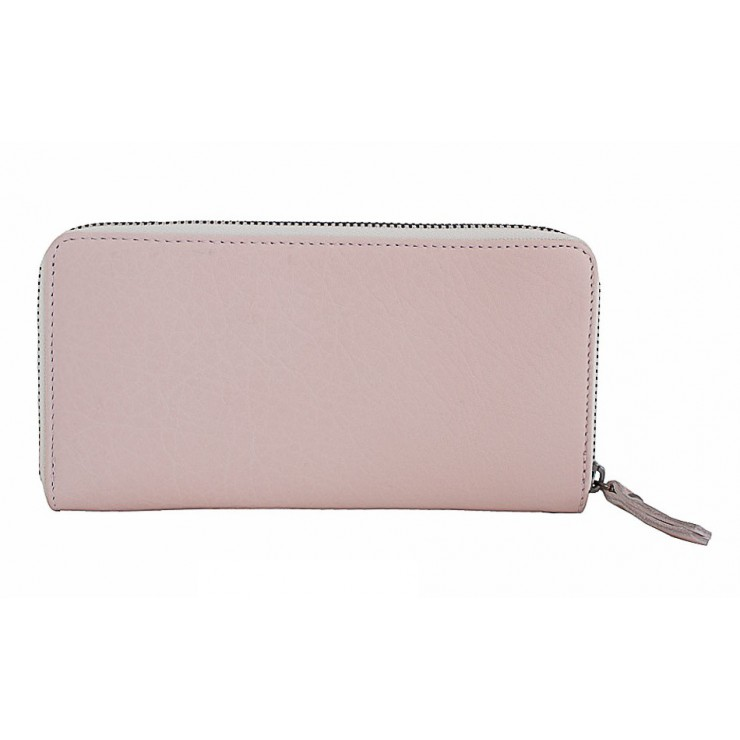 Woman genuine leather wallet 595A pink