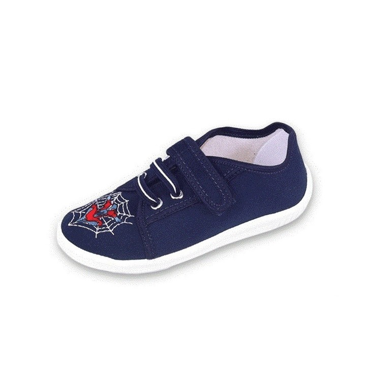 Chlapčenské papučky modré na suchý zips