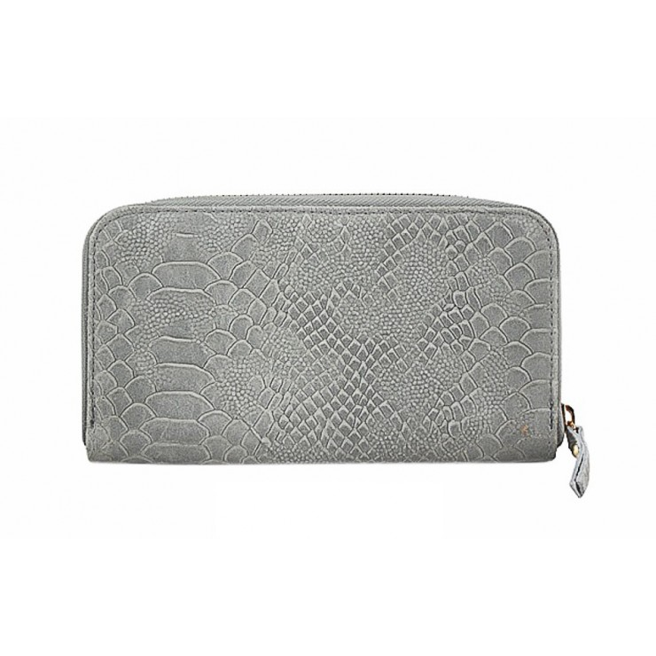 Kožená peňaženka 595 šedá