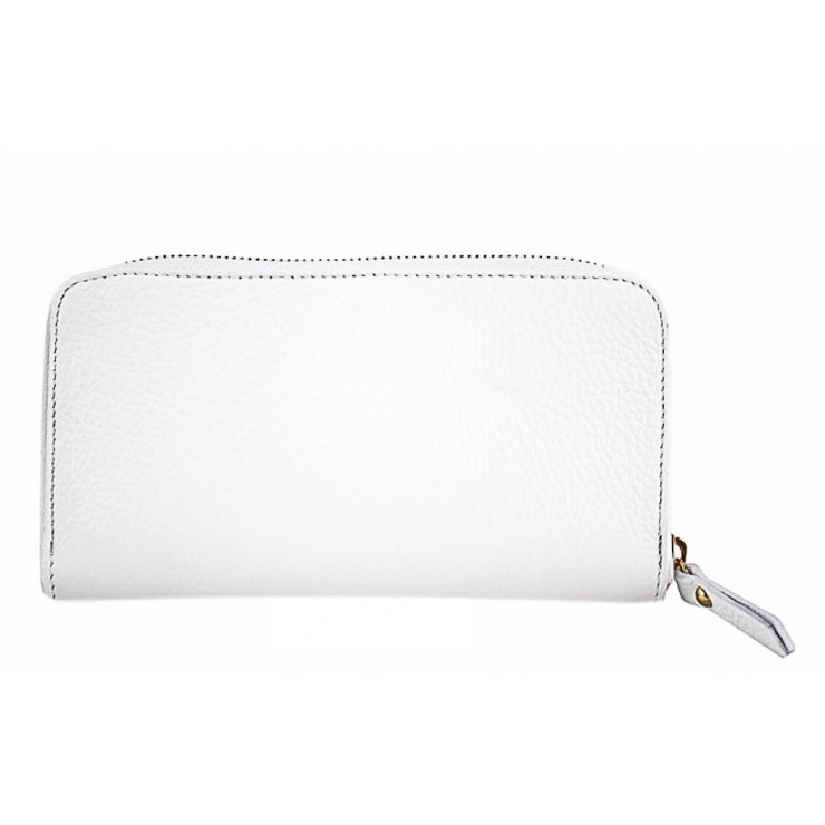 Woman genuine leather wallet 820B white