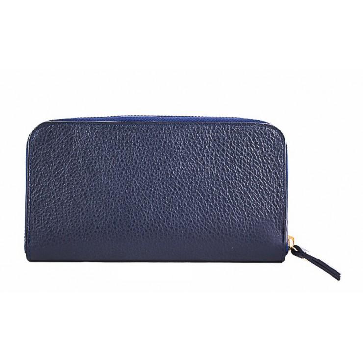 Kožená peňaženka 820B modrá