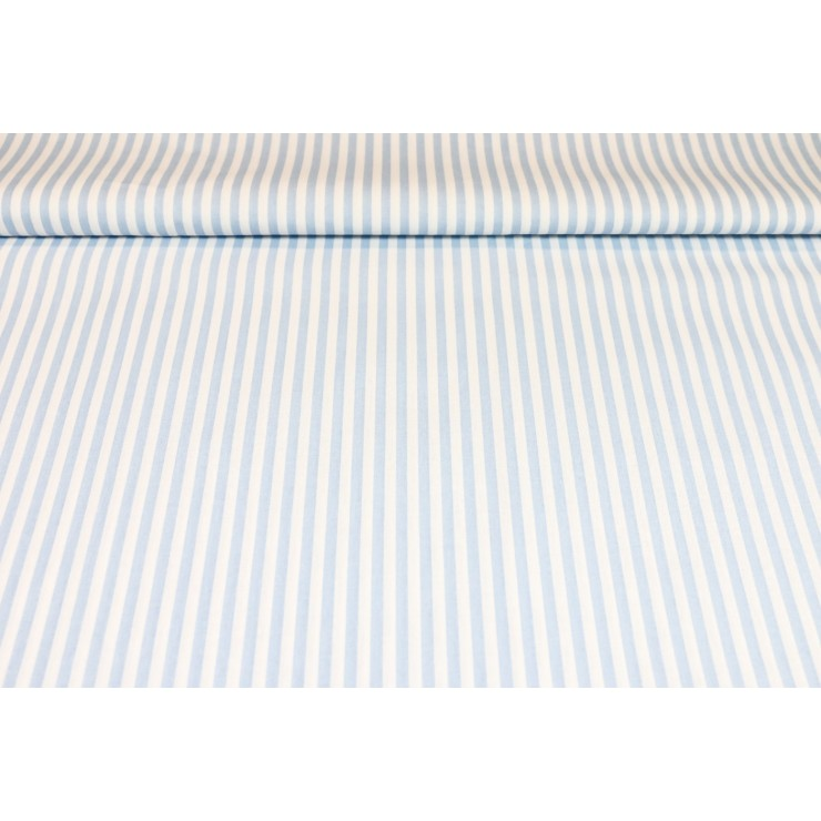Bavlnená látka Pásik modrý, š. 290 cm