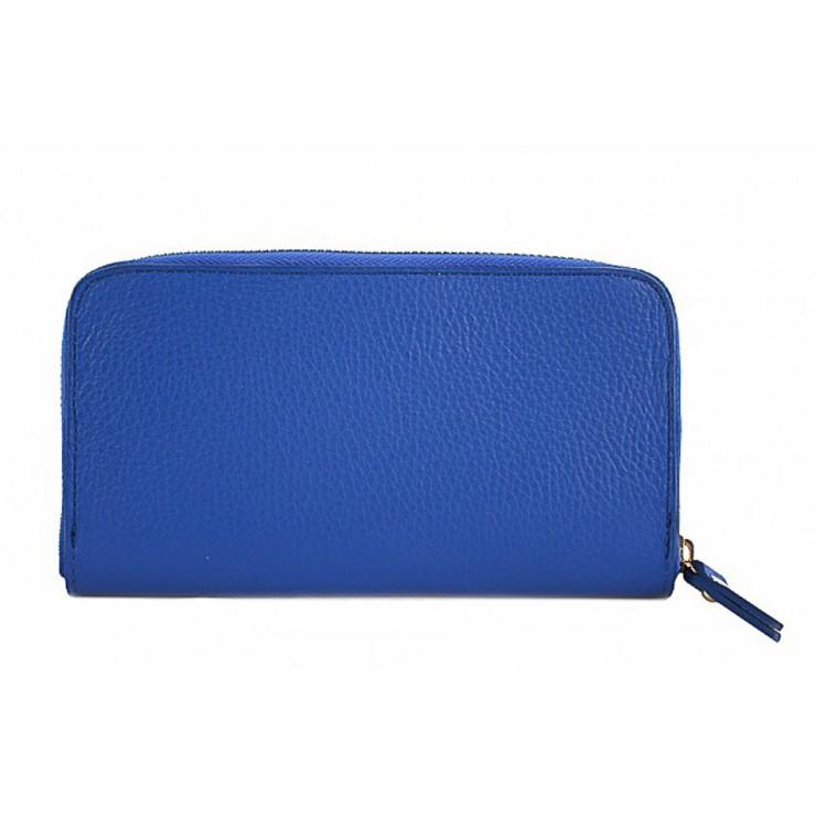 Kožená peňaženka 820B azurovo modrá