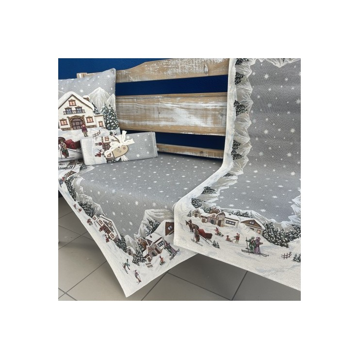 Gobelinový behúň na stôl 40x100 cm Eden 1004