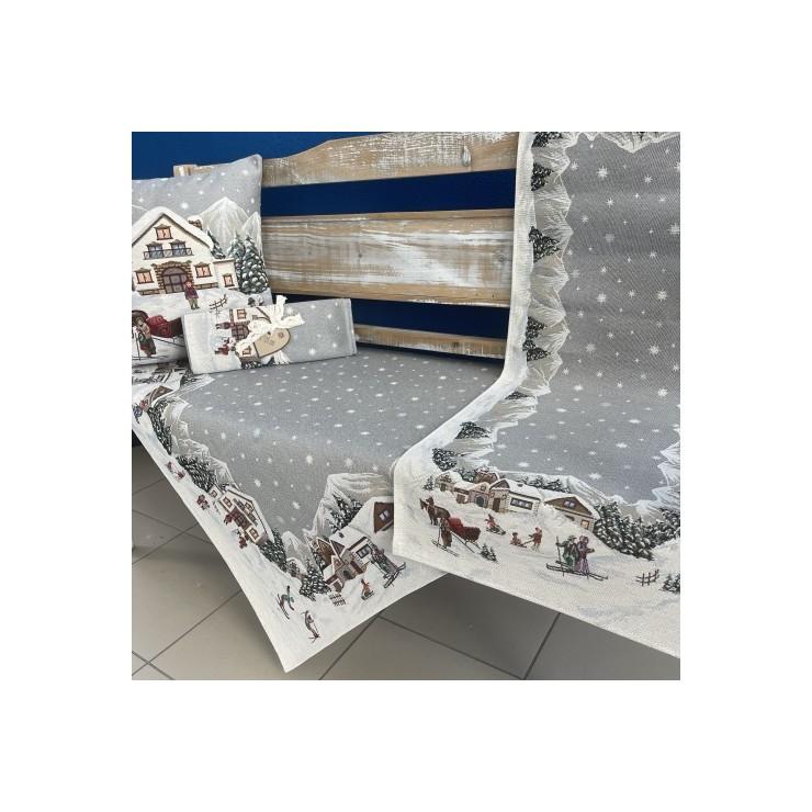Gobelinový obrus na stôl 100x100 Eden 1004