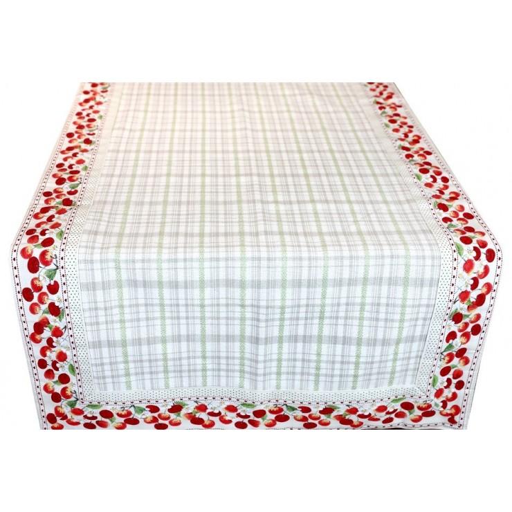 Behúň na stôl čerešne 45x150 cm