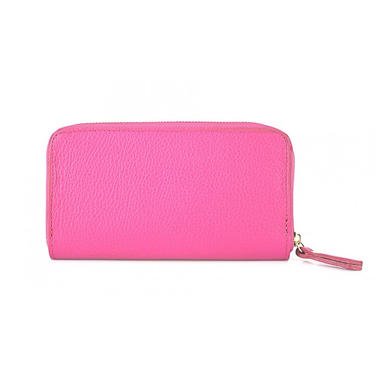 Woman genuine leather wallet 820B fuxia