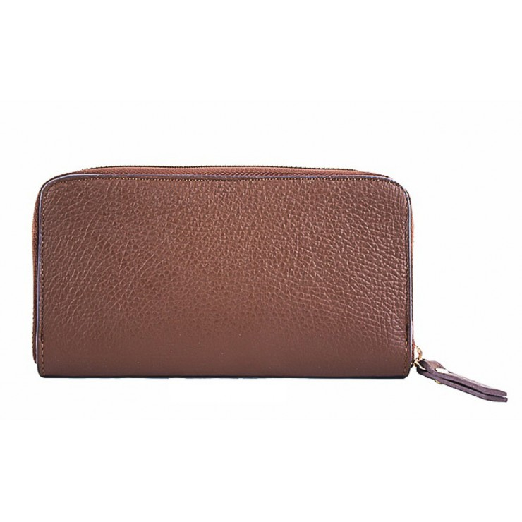 Woman genuine leather wallet 820B brown