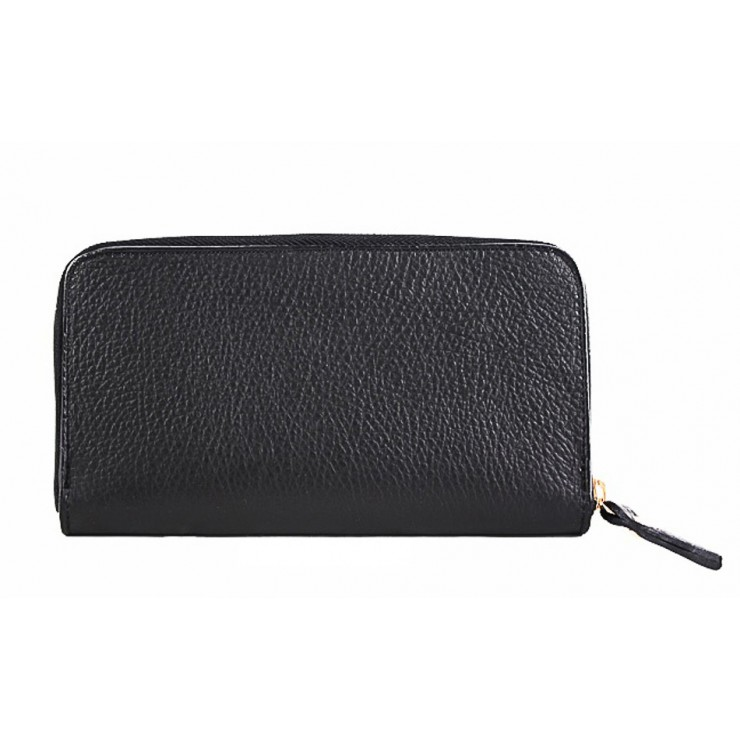 Woman genuine leather wallet 820B black
