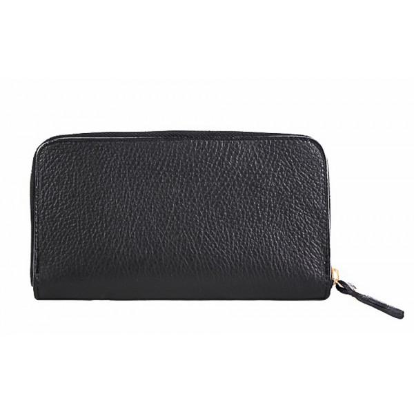 Kožená peňaženka 820B čierna