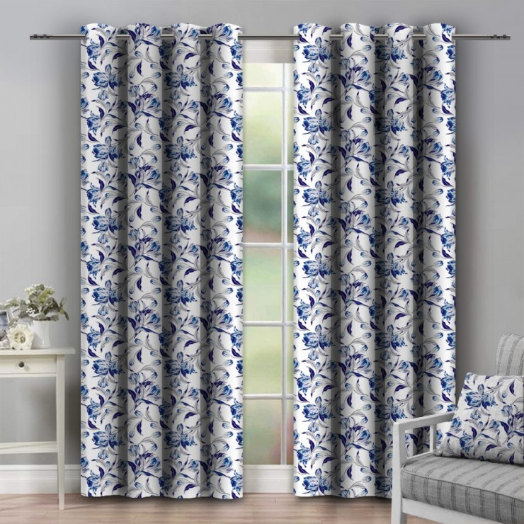 Curtain on rings 140x250 cm