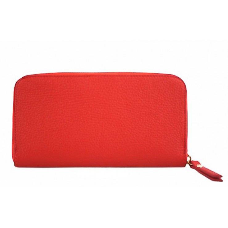 Woman genuine leather wallet 820B red
