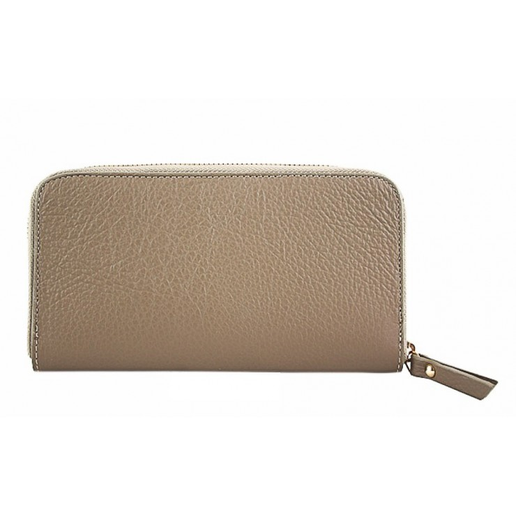 Woman genuine leather wallet 820B taupe