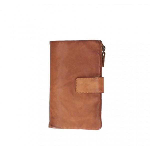 Dámska kožená peňaženka 725 koňak Koňak