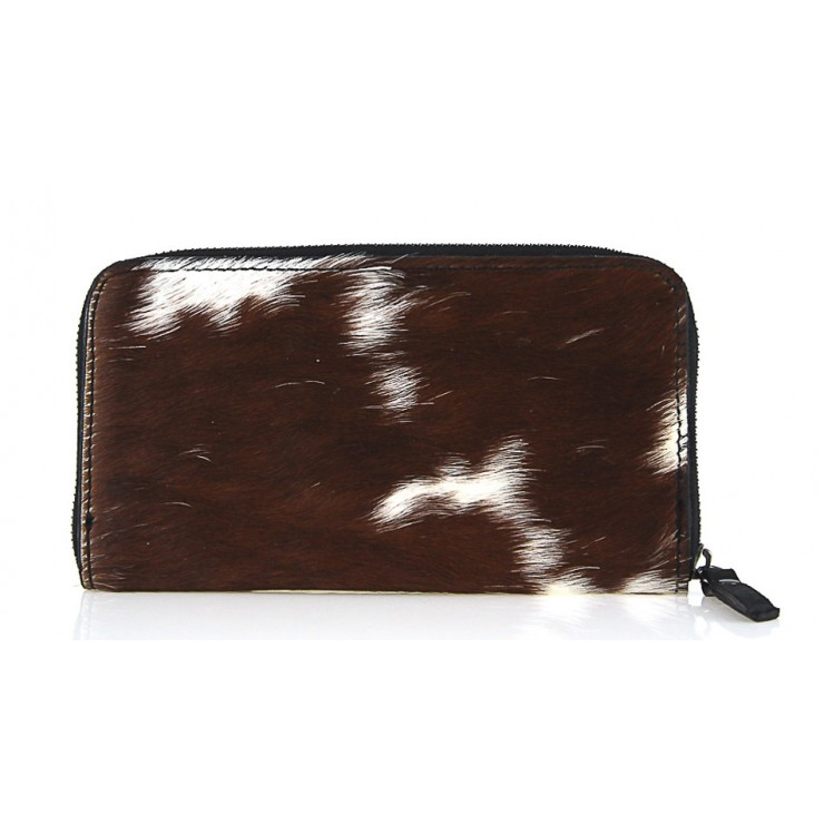 Woman genuine leather wallet 509 brown
