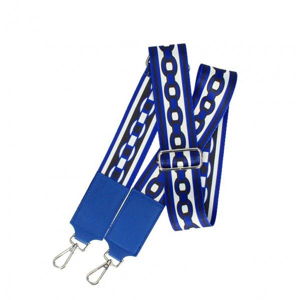 Odnímateľný popruh tašky 541A azurovo modrý Modrá