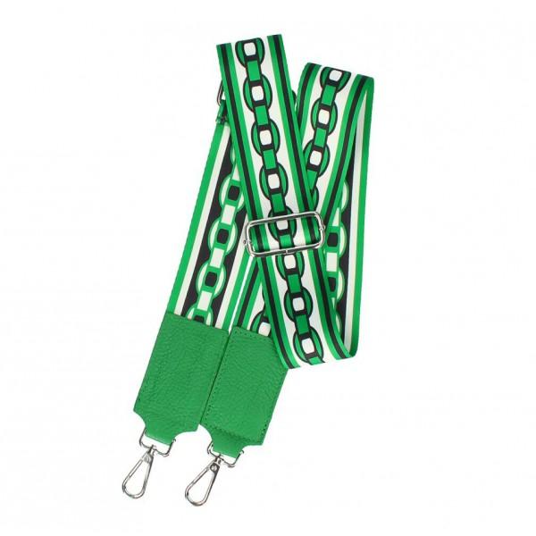 Odnímateľný popruh tašky 541A zelený Zelená