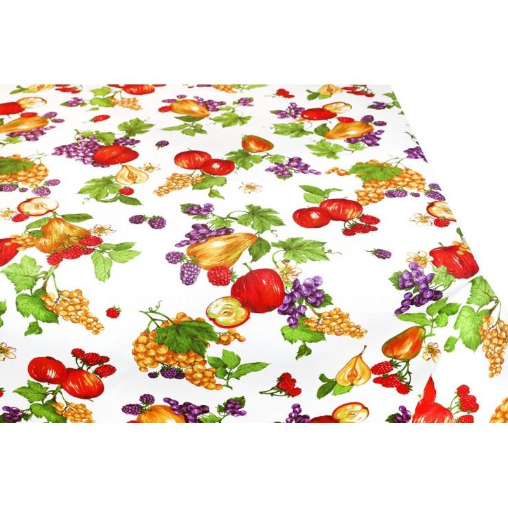 Bavlnený obrus ovocie 90x90 cm Made in Italy