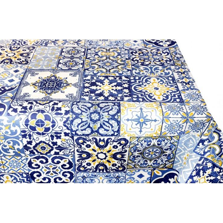 Bavlnený obrus Majolika 90x90 cm Made in Italy