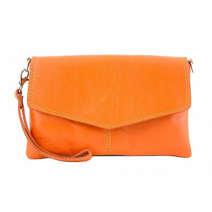 Genuine Leather Handbag 798 orange