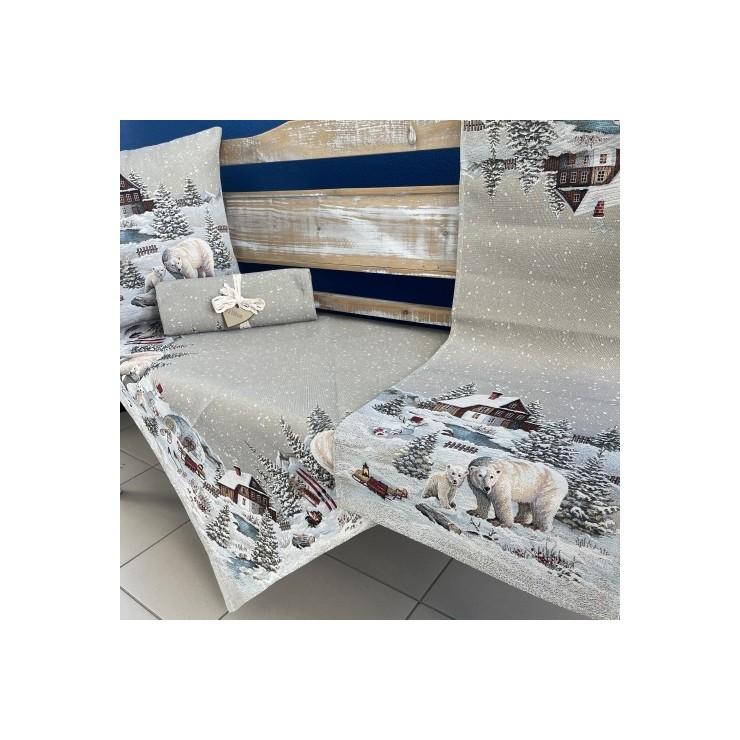 Gobelinový obrus na stôl 100x100 cm Eden 1058