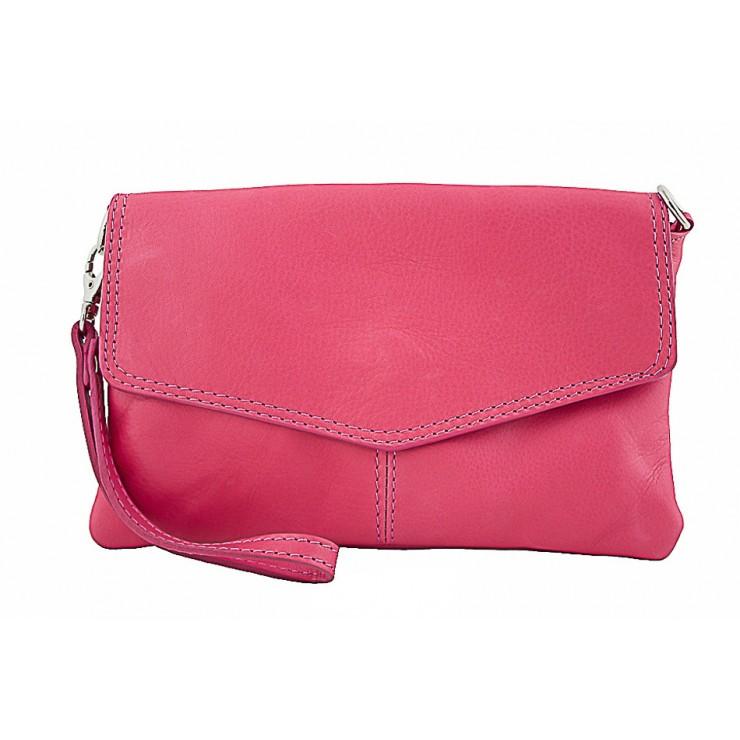 Genuine Leather Handbag 798 fuxia