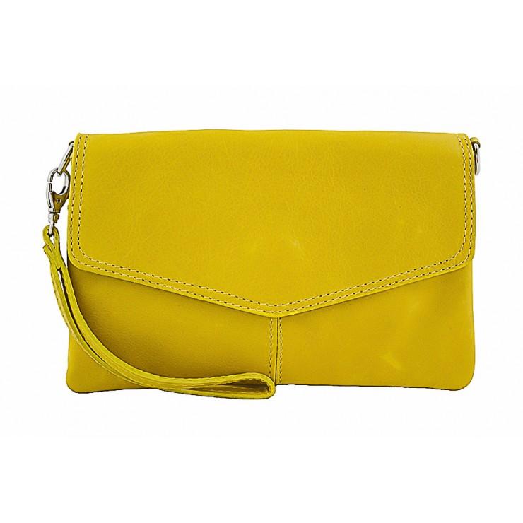 Genuine Leather Handbag 798 yellow
