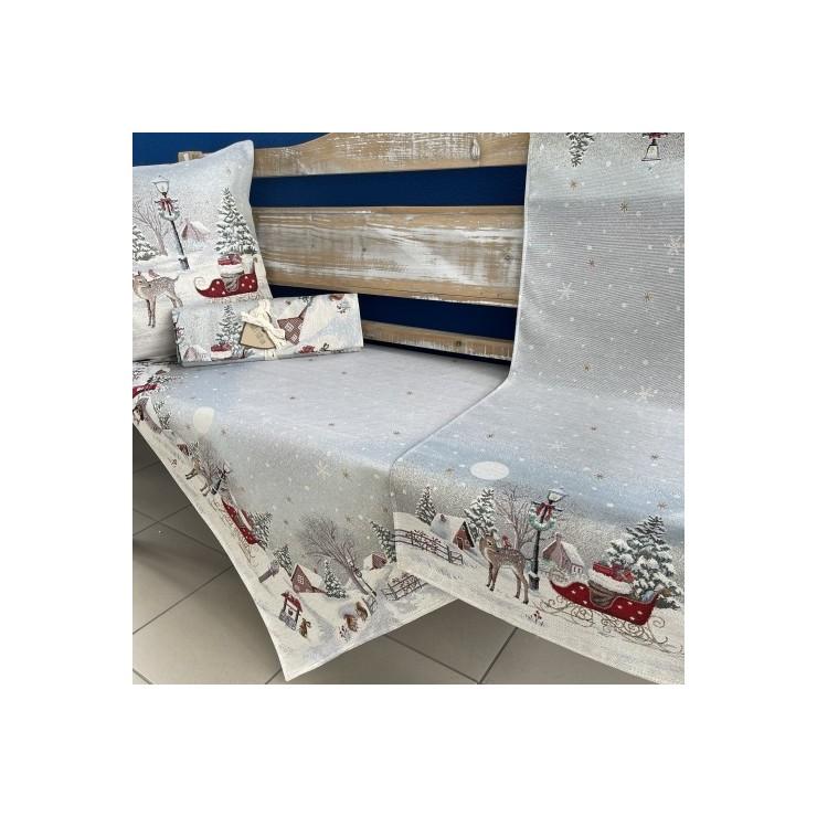 Gobelinový behúň na stôl 40x100 cm Eden 972