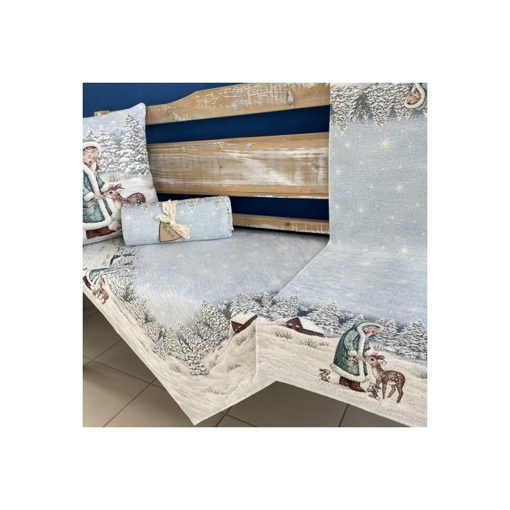 Gobelinový behúň na stôl 40x100 cm Chenille 1152