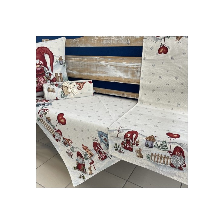 Gobelinový behúň na stôl 45x140 cm Eden 1063