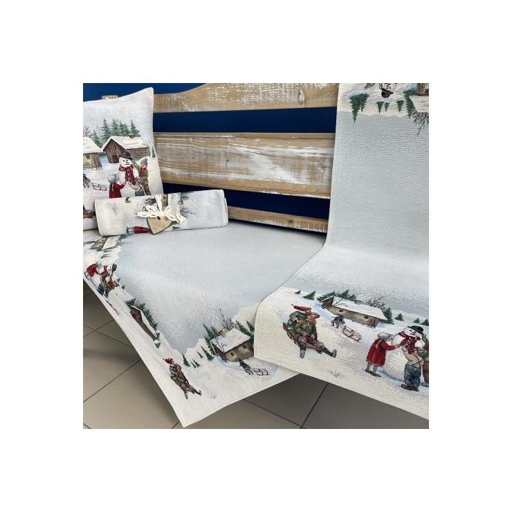 Gobelinový behúň na stôl 45x140 cm Eden 1068