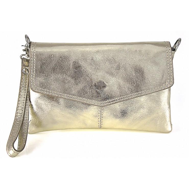 Genuine Leather Handbag 798 gold