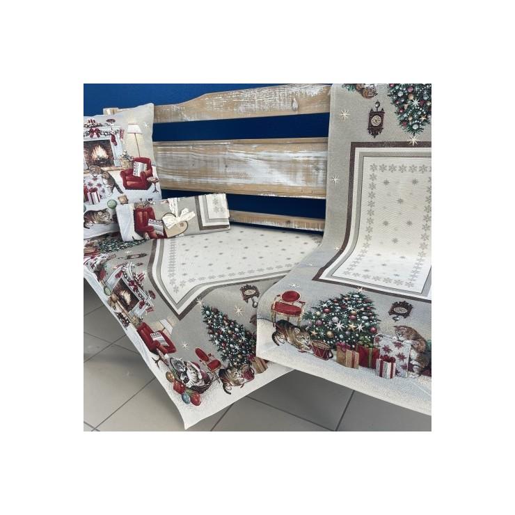 Gobelinový behúň na stôl 45x140 cm Eden 966