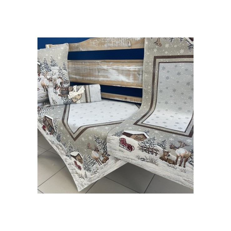 Gobelinový behúň na stôl 45x140 cm Eden 970