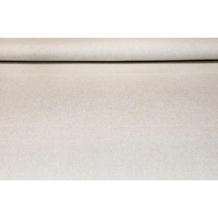 Dekoračná látka režná s lurexom, š. 140 cm