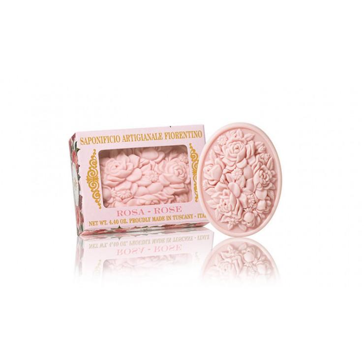 Přírodní mýdlo Růže 125 g