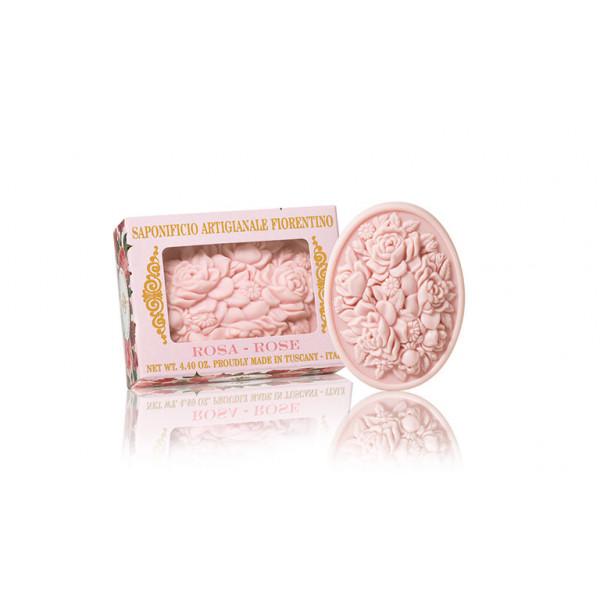 Prírodné mydlo Ruža 125 g