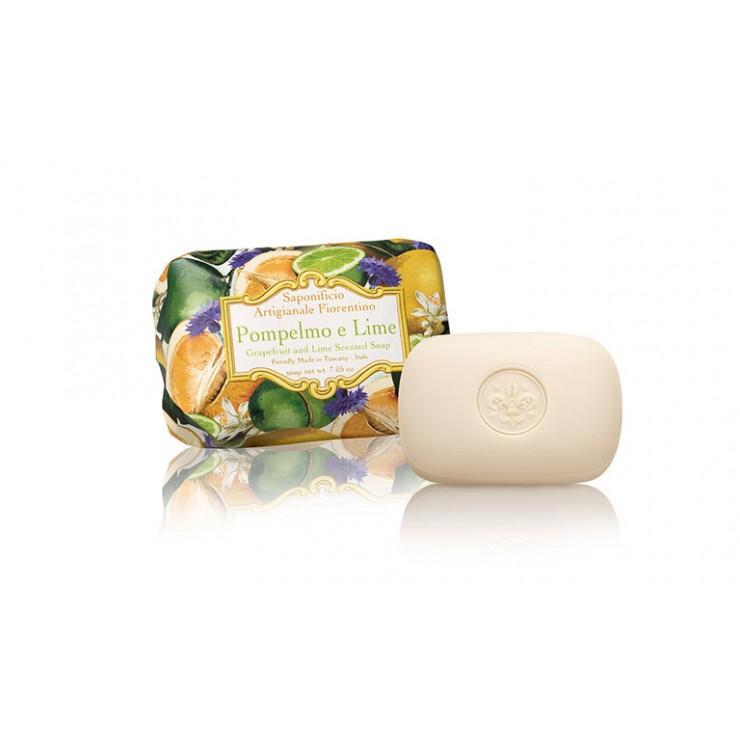Prírodné mydlo Grep a limetka 200 g