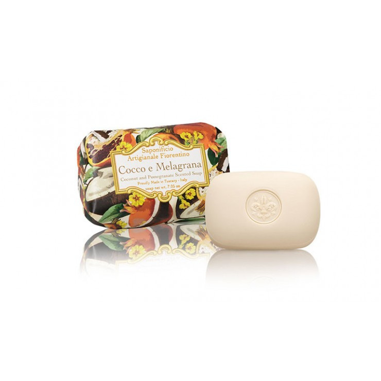 Vegetable soap coconut and pomegranate 200 g