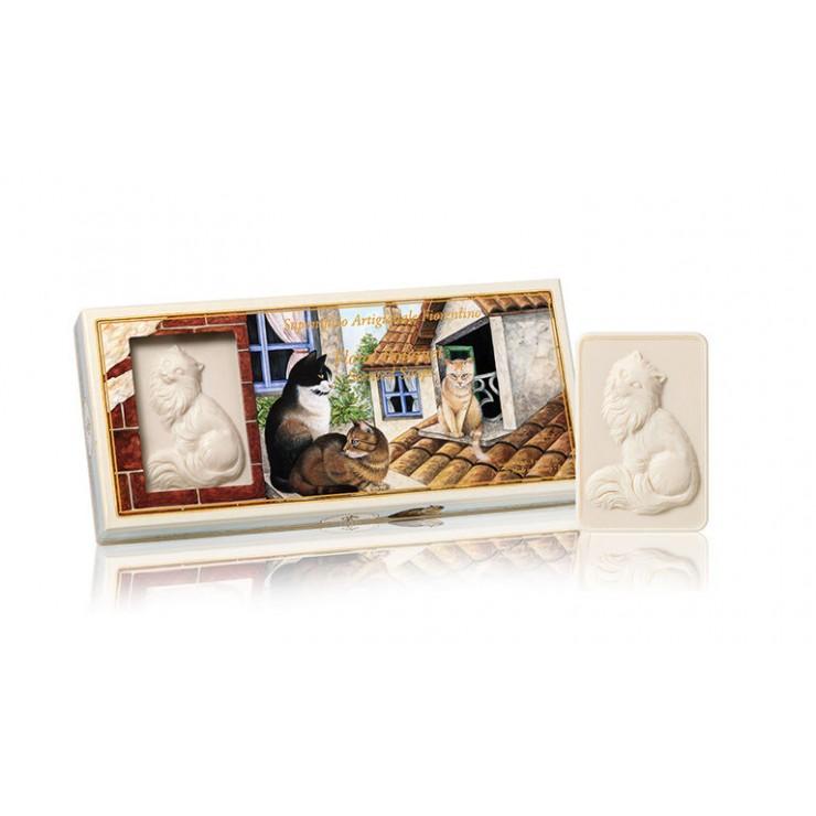 Prírodné mydlo Mačky 3 x 125 g