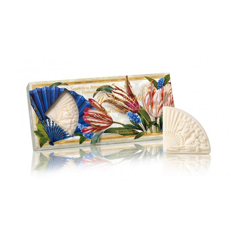 Prírodné mydlo Vejár 3 x 100 g