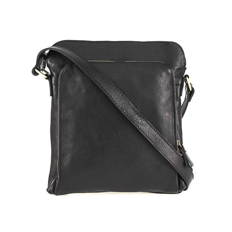 Leather Strap bag black 453