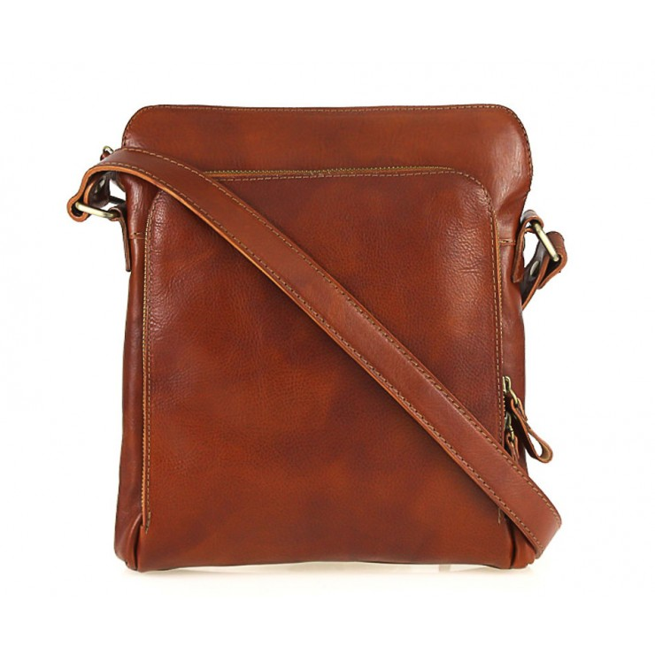 Leather Strap bag cognac 453